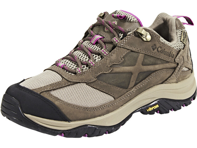 Columbia Terrebonne Outdry Chaussures Femme, pebble/intense violet